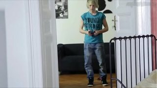 Gay Blonde Timothy Fucked